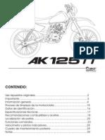 Manual AK125TT 74