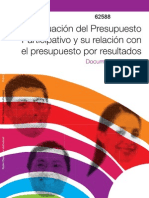 Presupuesto Participativo - Banco Mundial