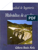 HIDRAULICA DE CANALES--- G. Sotelo Avila