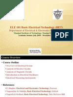 L1 - Instruction & Power System