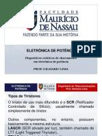 Eletronica de Potencia - Tipos de Tiristores