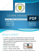 36215668 Lease Financing Ppt