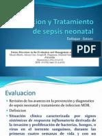 Evaluacion y Tratamiento de Sepsis Neonatal