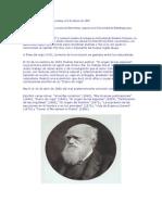 Charles Darwin nació en Shrewsbury el 9 de febrero de 1809