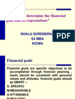 Factors to Determine the Financial Goal And