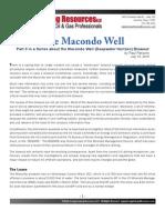 Macondo History