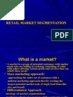 chapter 5 Retail Market Segmentation-Retail Management