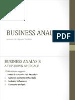 2- Business Analysis