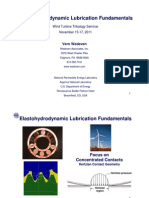 Elastohydrodynamic Lubrication Fundamentals