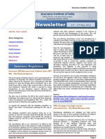 Newsletter 11th May-17th May 2012