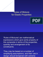 Rules of Mixture