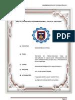 ESTUDIO DE PREFACTIBILIDAD PARA LA INSTALACION DE UNA PLANTA  PROCESADORA DE LECHE Y PRODUCTOS LACTEOS EN LA PROVINCIA DE HUANCABAMBA - PIURA