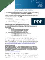 POINT TEST Fact Sheet 01Jul2012