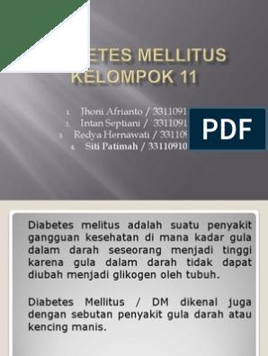 diabetes mellitus adalah ppt