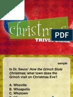 Christmas Game Freebie