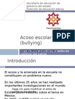 6.21 Bullying Pedagogico