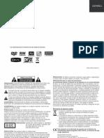 LG DVD Recorder DR389 Manual