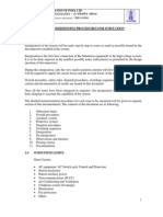 PRE Commissioning Procedures Tr Rev01 PGCIL