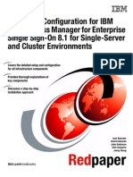 Setup and Configuration for IBM Tivoli Access Manager for Enterprise Single Sign-On 8.1 for Single-Server and Cluster Environments Redp4700