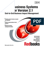 Tivoli Business Systems Manager V2.1 End-To-End Business Impact Management Sg246610