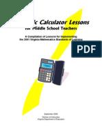 Scientific Calculator Lessons