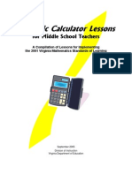 Scientific Calculator Lessons