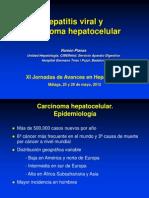 hepatitis viral y carcinoma hepatocelular Málaga 2012