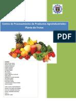 Centro de Procesamiento de Productos Agroindustriales-Planta de Frutas