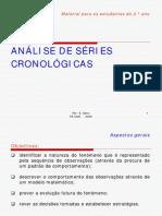 ANÁLISE DE SÉRIES CRONOLÓGICAS - Cópia