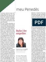 El meu Penedès, article publicat a El 3 de vuit