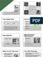 Supply Chain Basics Presentation