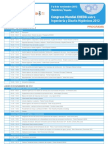 Programa Congreso Mundial EHEDG sobre Ingeniería y Diseño Higiénicos 2012