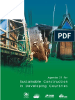 Sustainable Construction in Developing Conutries