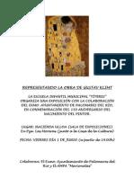 CARTEL Gustav Klimt
