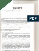 Dalf Production Ecrite