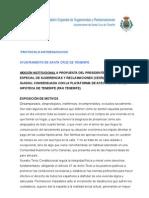 MOCIÓN INSTITUCIONAL PROTOCOLO ANTIDESAHUCIOS