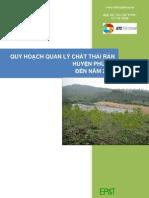 Phu My - Quy hoạch quản lý chất thải rắn