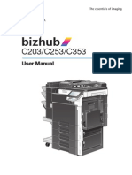 MANUAL Bizhub Color Multi