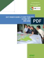 Tay Son - Quy hoạch quản lý chất thải rắn