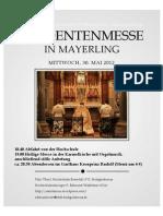 Studentenmesse Mayerling