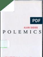 Badiou - Polemics (en)