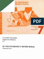 Voluntariado y Mundo Rural