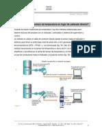 0905 Boletn - Transmisor de Temperatura o Cableado Directo