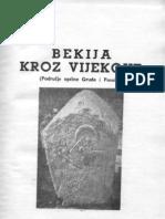 Bekija_kroz_vijekove_(Marko_Vego_1964)