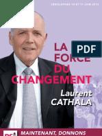 Le programme de Laurent Cathala pour les législatives