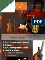 Clase de Musica Instrumentos Musicales