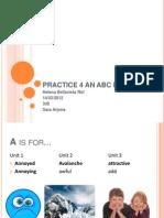 Practice 4 an ABC Book