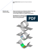 2006 [Alves] Development of a General Purpose Nonlinear Solid-shell Element and Its Application to Ani So Tropic Sheet Forming Simulation
