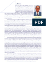 Short biodata of Dr. Rawal in English