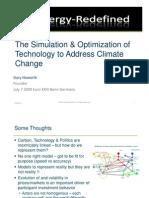 Simulation and Optimization of Technology